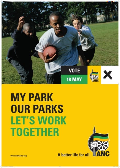 ANC Campaign Poster